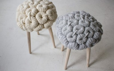 Friday Find – Knit Stools
